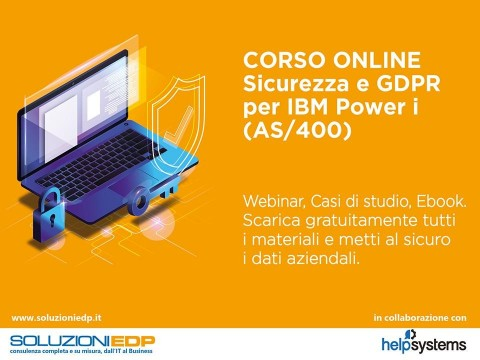 CORSO ONLINE - Sicurezza e GDPR per IBM Power i (AS/400)