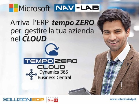 Evento di Lancio: TEMPO ZERO CLOUD per Dynamics 365 Business Central