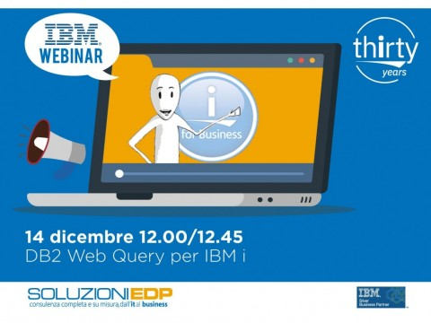 Webinar Radio Mr i - DB2 Web Query per IBM i