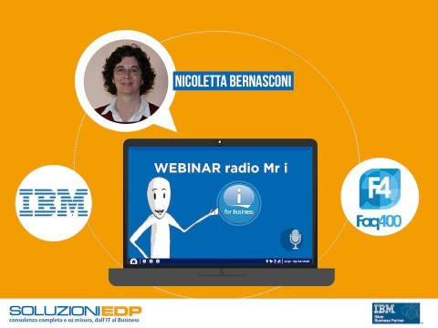 Intervista a Nicoletta Bernasconi Product Manager IBM Power i per il ritorno di Radio Mr i